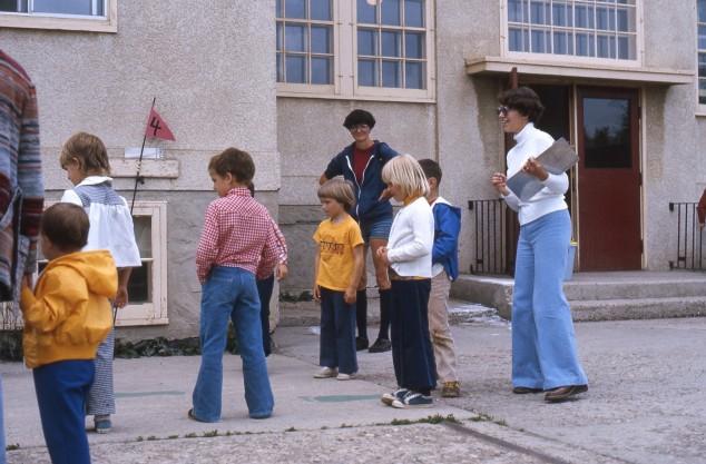 Robina Baker Elementary School circa 1977