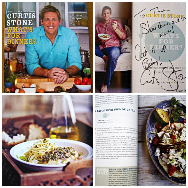 Curtis Stone What's for dinner