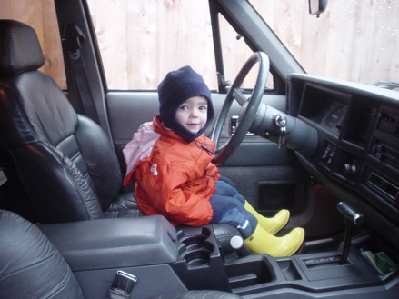 Jeep - my son age 2